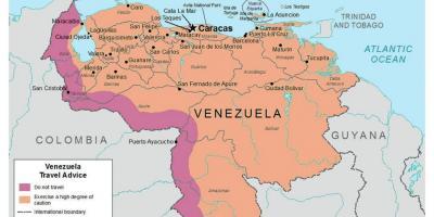 Venezuela Harta Harta Venezuela Amerika E Jugut Amerike